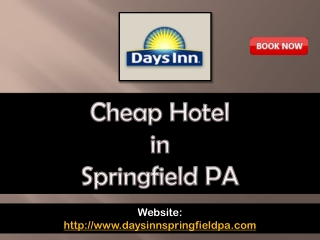 cheap hotel in springfield pa