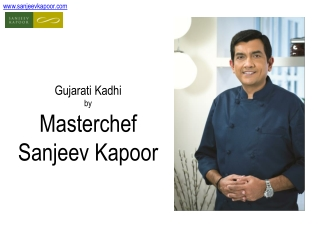 gajar kadhi Recipe by Master Chef Sanjeev Kapoor