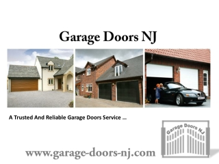 Install Your Garage Doors With Latest Technology