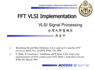 FFT VLSI Implementation