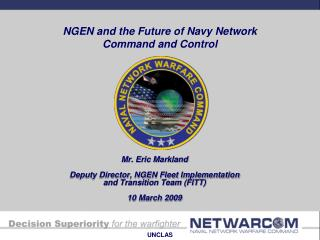 NGEN and the Future of Navy Network Command and Control