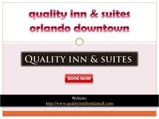 quality inn & suites orlando downtown