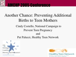 AMCHP 2005 Conference