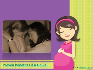 Proven Benefits Of A Doula