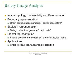 Binary Image Analysis