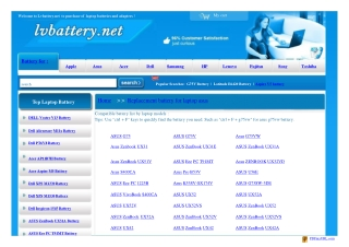 asus laptop battery and asus charger