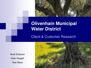 Olivenhain Municipal Water District