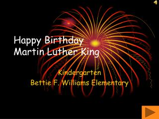 Happy Birthday Martin Luther King