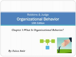 Robbins & Judge Organizational Behavior 13th Edition
