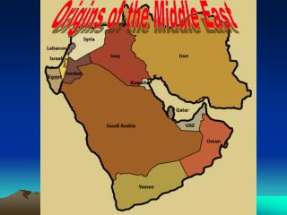 Origins of the Middle East