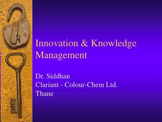 Innovation & Knowledge Management