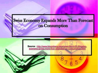 Westhill Consulting Reviews - Swiss Economy Expands More Tha