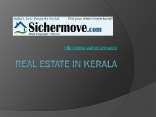 Real Estate Properties in Kerala - Sichermove
