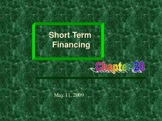 Short Term  Financing