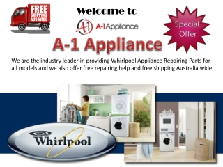 Whirlpool Appliance Repairing Parts Easy Buy
