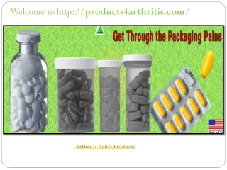 Arthritis Relief Products