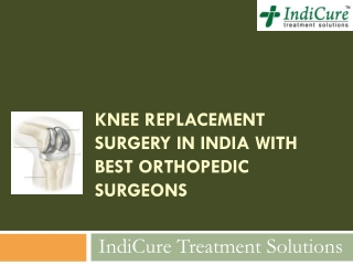 Knee Replacement Surgery in India
