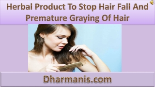 Hair Fall Herbal Treatment, Globally Trusted Natural Remedy