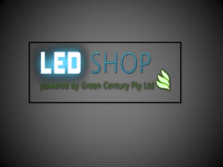 LED Shop Presentation
