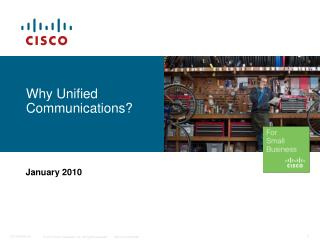 Why Unified Communications?