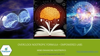Overclock Nootropic Formula – Empowered Labs