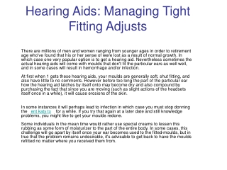 katy tx hearing aids