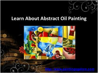 know more about abstract oil painting