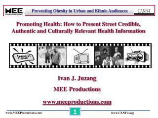 Ivan J. Juzang MEE Productions