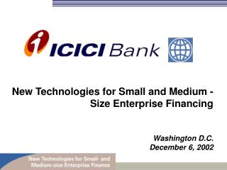 New Technologies for Small and Medium - Size Enterprise Financing