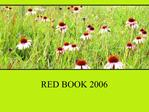 RED BOOK 2006