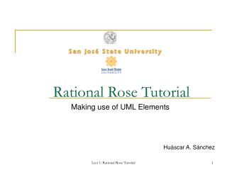 Rational Rose Tutorial