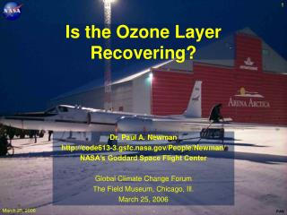 Is the Ozone Layer Recovering?
