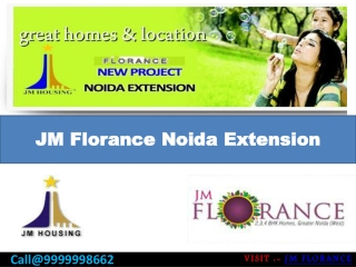 Jm Florance New Residential Project Noida Extension