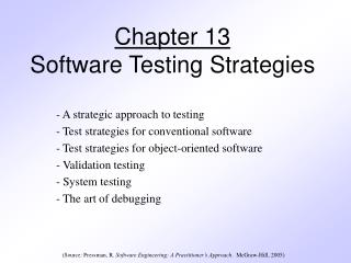 Chapter 13 Software Testing Strategies