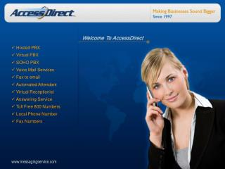 affordable hosted pbx services - accessdirect