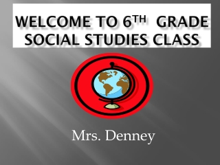 6th Grade Current Events-Social Studies