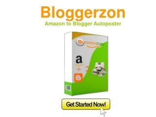Blogger zon