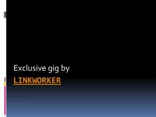 linkworker
