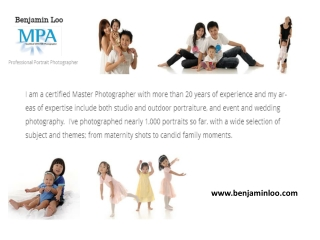 Portrait Photographers Singapore