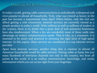 time warner cable deals