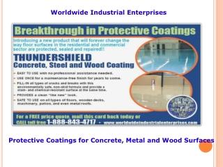 worldwide industrial enterprises