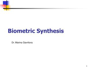 Biometric Synthesis