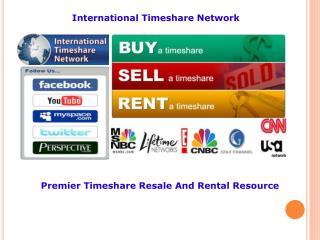international timeshare network