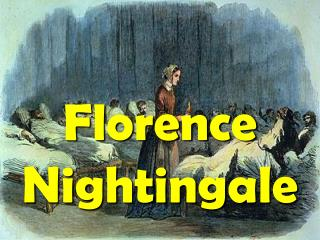 Florence Nightingale was born on 12 May 1820.  She was named after the city in which she was born.  She had rich parents