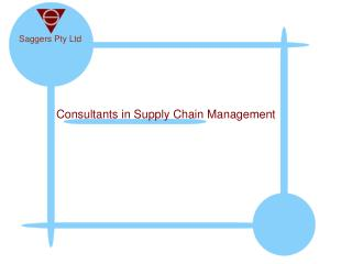 Consultants in Supply Chain Management