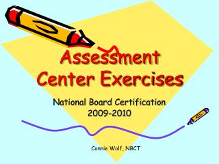 Assessment Center Exercises
