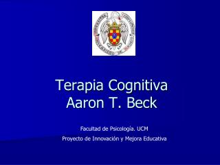 Terapia Cognitiva Aaron T. Beck