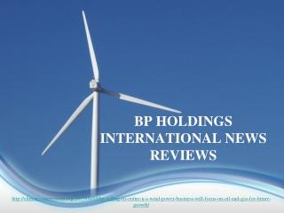 BP verkoop van haar hele Verenigde Staten wind macht bedrijf