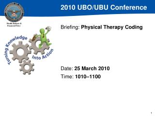 Briefing: Physical Therapy Coding