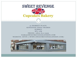Sweetrevenge -  cakes and cupcakes
